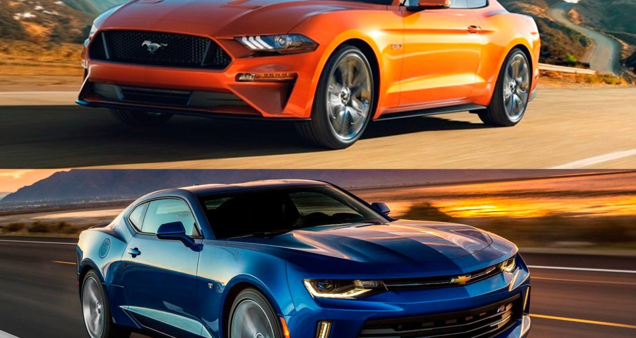 Ford Mustang x Chevrolet Camaro: muscle cars vão duelar no Brasil